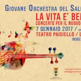 15 Gennaio: Concerto per il nuovo anno della Giovane Orchestra del Salento
