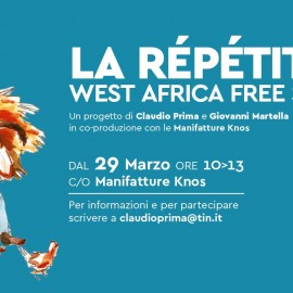 La répétition. West Africa free sessions