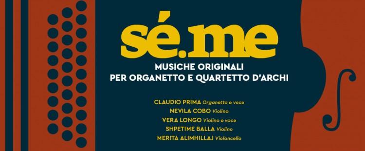 Claudio Prima & progetto sé.me il 24 febbraio nel Teatro Comunale di Novoli